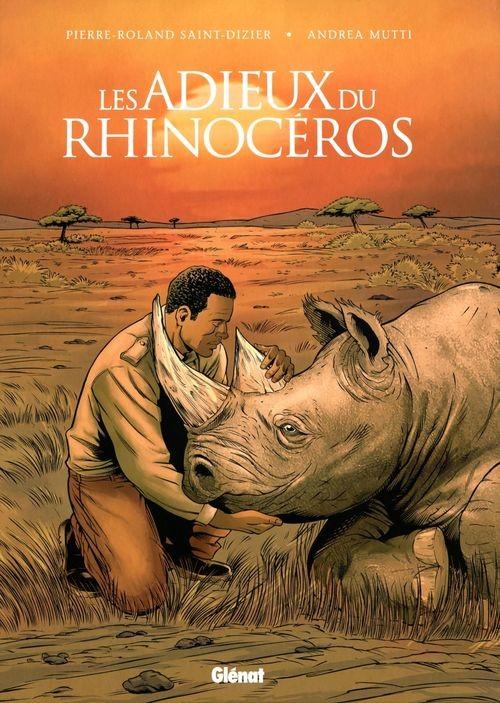 Couverture de Les adieux du rhinocéros