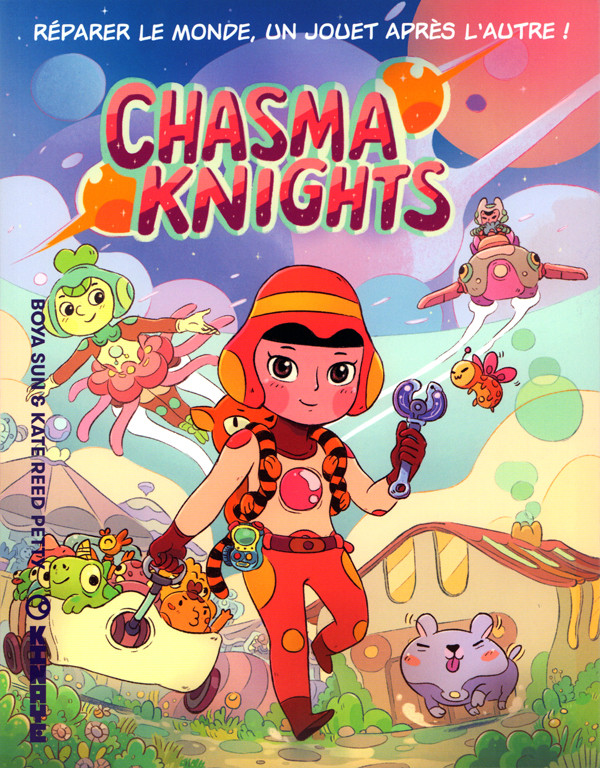 Couverture de Chasma Knights - Chasma knights