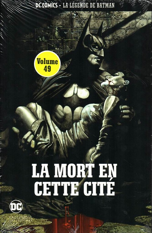 Couverture de DC Comics - La légende de Batman -4942- La mort en cette cité