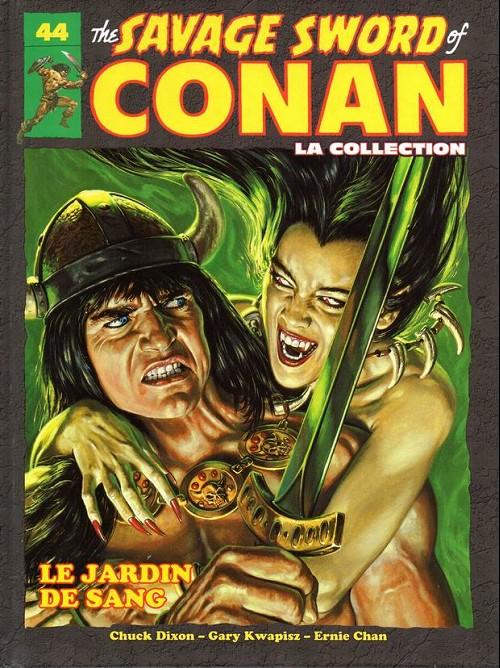 Couverture de Savage Sword of Conan (The) - La Collection (Hachette) -44- Le jardin de sang