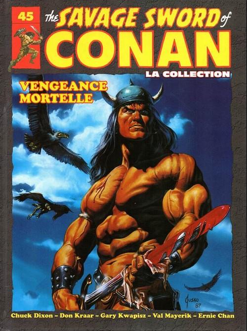 Couverture de Savage Sword of Conan (The) - La Collection (Hachette) -45- Vengeance mortelle