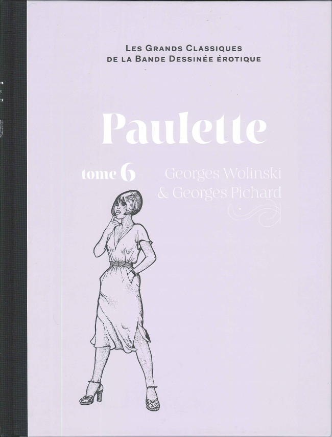 Couverture de Les grands Classiques de la Bande Dessinée érotique - La Collection -8262- Paulette - Tome 6