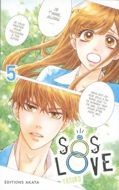 Couverture de SOS love -5- Tome 5