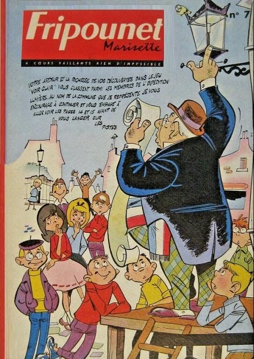 Couverture de (Recueil) Fripounet et Marisette -627- Album 1962 (recueil des n°41 à 51)