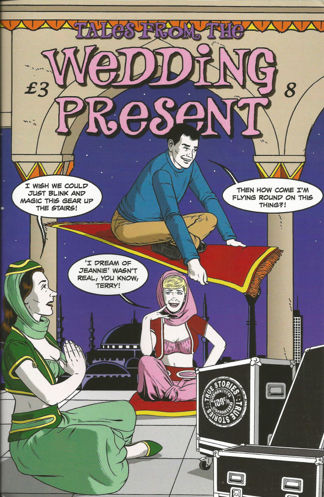 Couverture de Tales from the Wedding Present (2012) -8- Issue 8