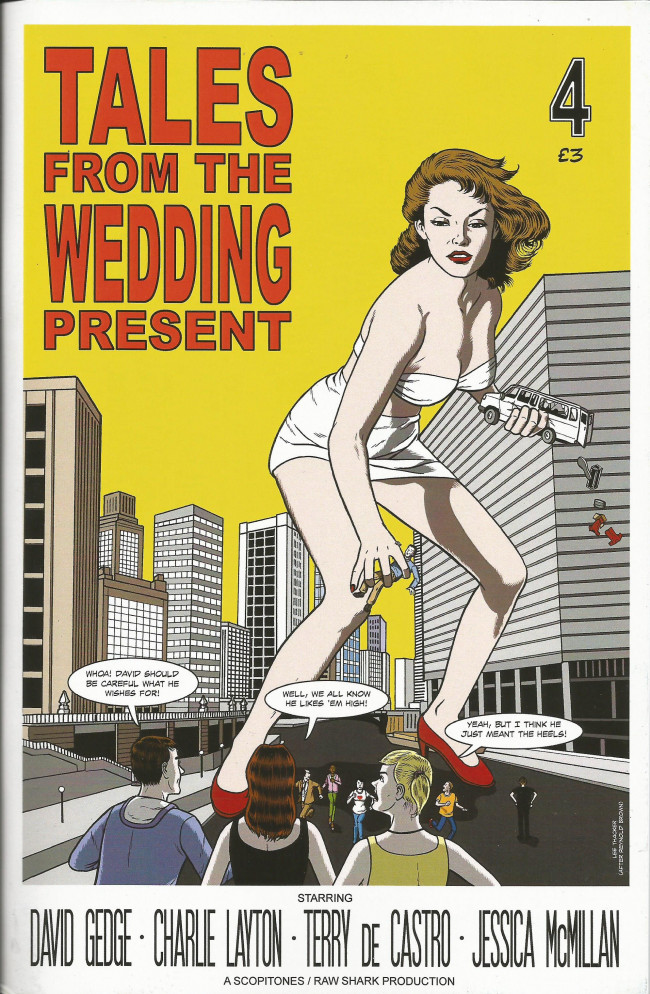 Couverture de Tales from the Wedding Present (2012) -4- Issue 4
