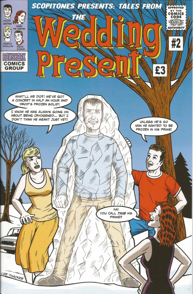 Couverture de Tales from the Wedding Present (2012) -2- Issue 2