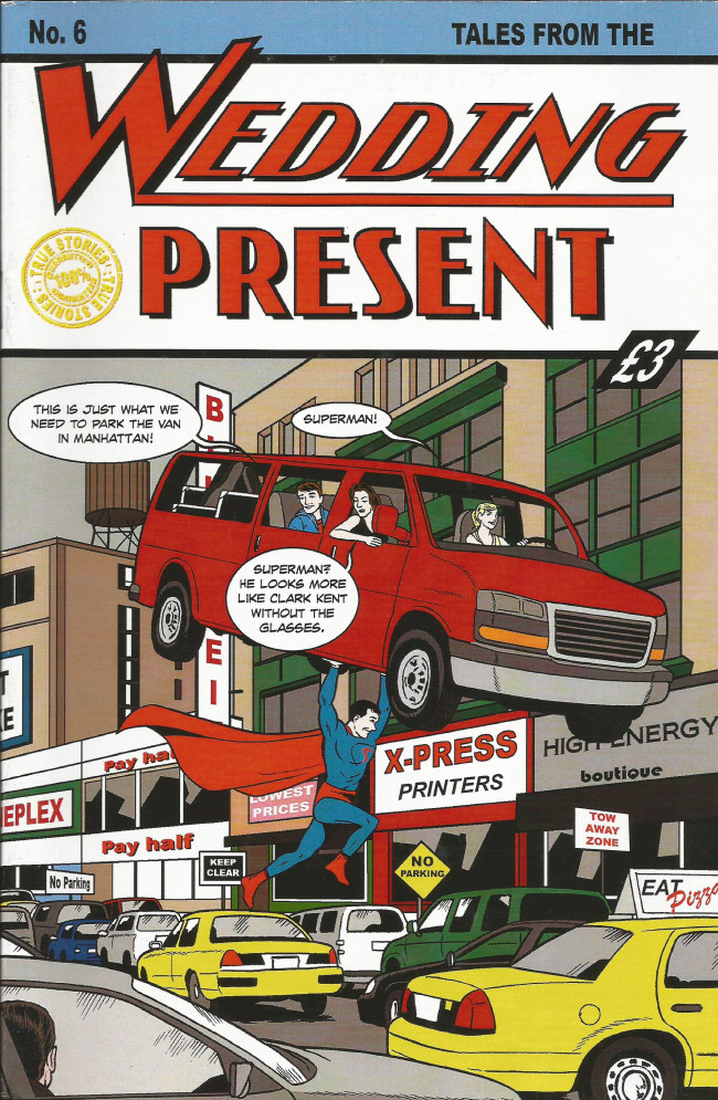 Couverture de Tales from the Wedding Present (2012) -6- Issue 6