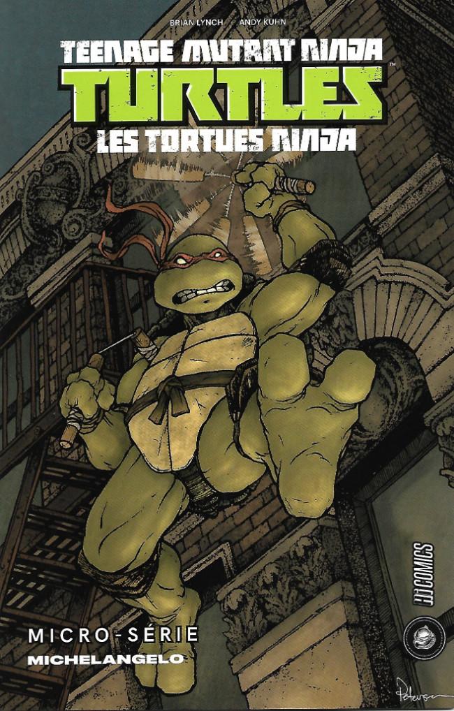Couverture de Teenage Mutant Ninja Turtles - Les Tortues Ninja (HiComics) -HS- Micro-série - Michelangelo