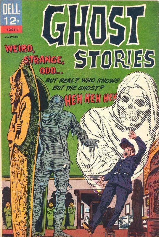 Couverture de Ghost Stories (Dell - 1962) -16- (sans titre)