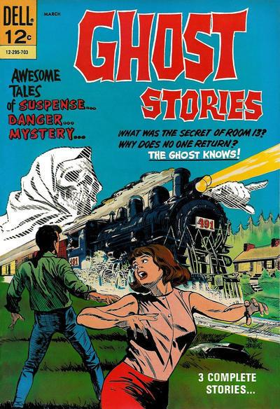 Couverture de Ghost Stories (Dell - 1962) -17- (sans titre)