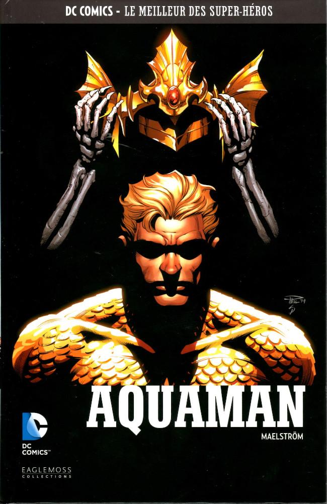 Couverture de DC Comics - Le Meilleur des Super-Héros -101- Aquaman - Maelström
