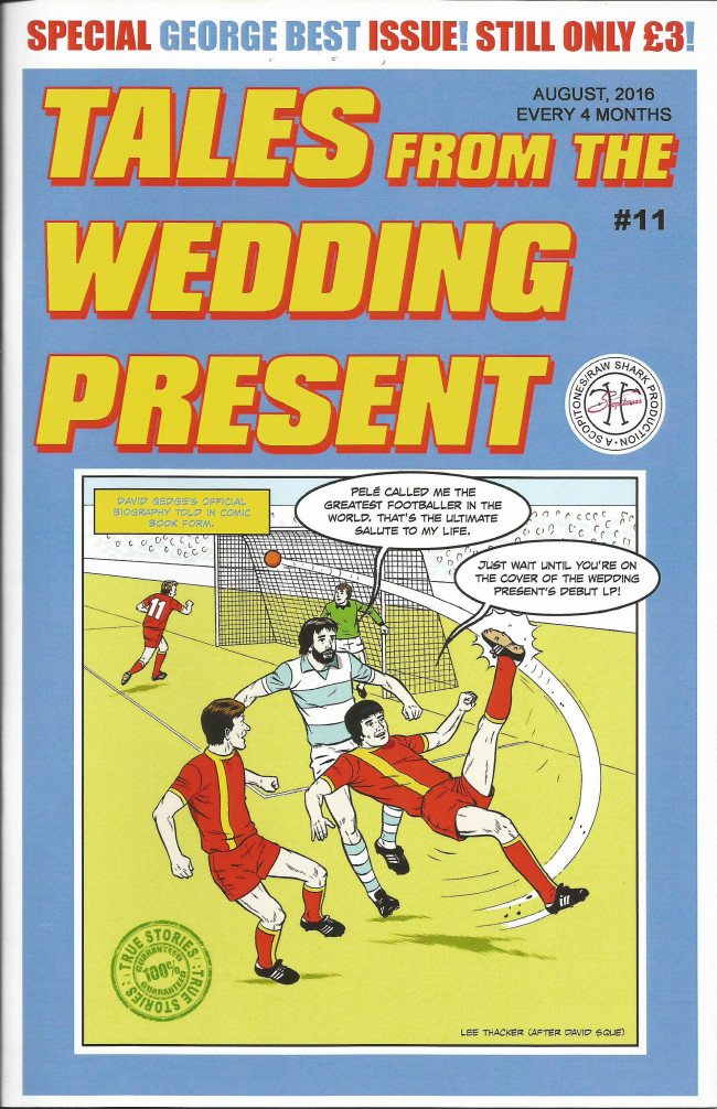 Couverture de Tales from the Wedding Present (2012) -11- Issue 11