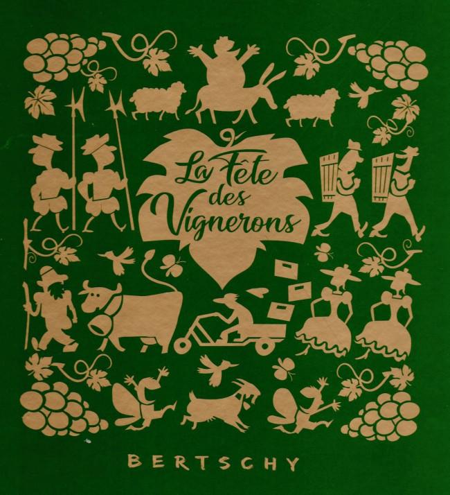 Couverture de La fête des vignerons