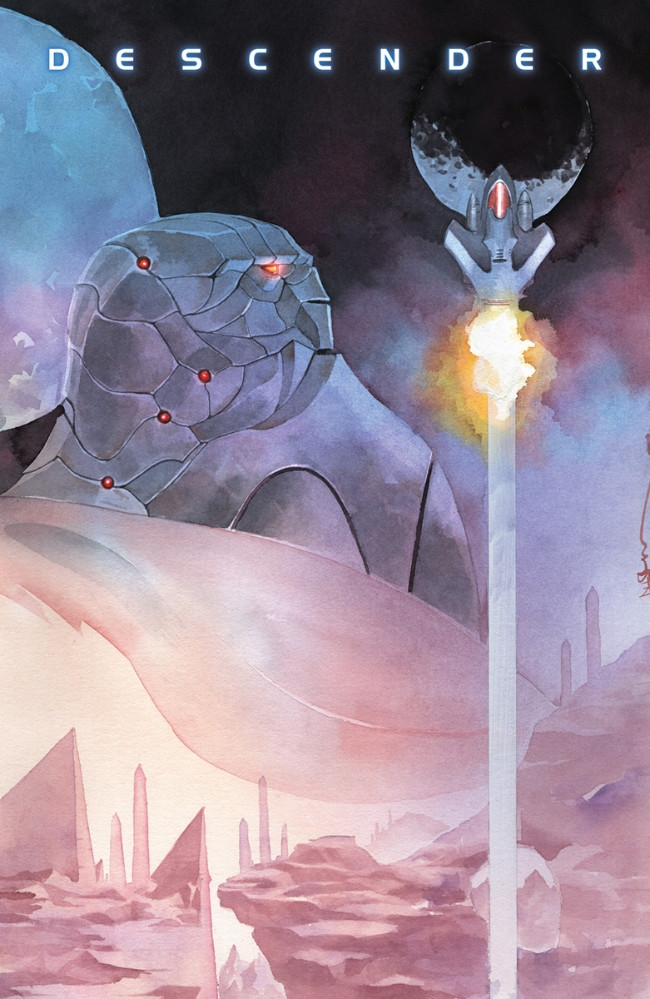 Couverture de Descender (Image comics - 2015) -27- Old Worlds: Part 1 of 2