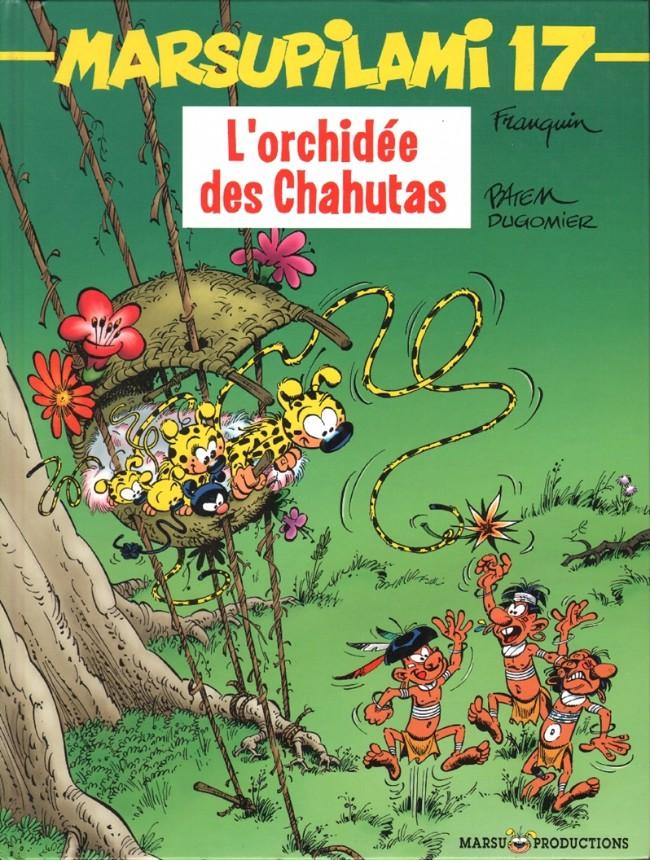 Couverture de Marsupilami -17- L'orchidée des Chahutas