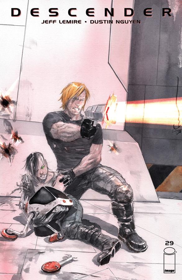 Couverture de Descender (Image comics - 2015) -29- The End of the Universe: Part 1 of 4