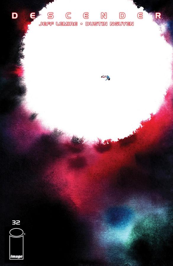 Couverture de Descender (Image comics - 2015) -32- The End of the Universe: Part 4 of 4