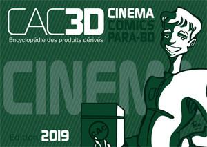 Couverture de (DOC) CAC3D -18- CAC3D - édition 2019 - Cinéma