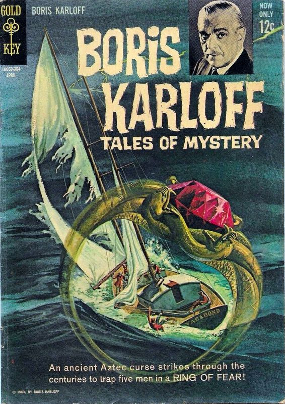 Couverture de Boris Karloff Tales of Mystery (1963) -3- Ring of Fear