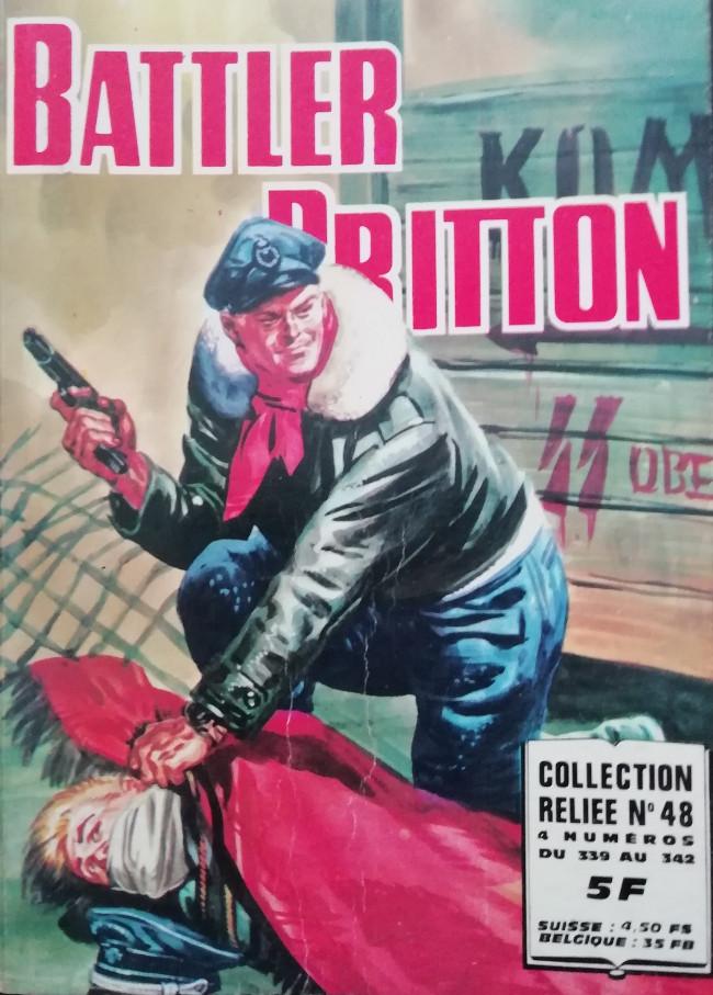 Couverture de Battler Britton -Rec48- Collection Reliée N°48 (du n°339 au n°342)