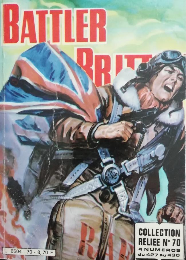 Couverture de Battler Britton -Rec70- Collection Reliée N°70 (du n°427 au n°430)