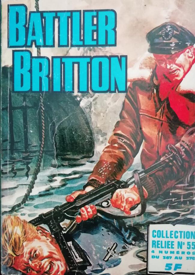 Couverture de Battler Britton (Imperia) -Rec55- Collection Reliée N°55 (du n°367 au n°370)