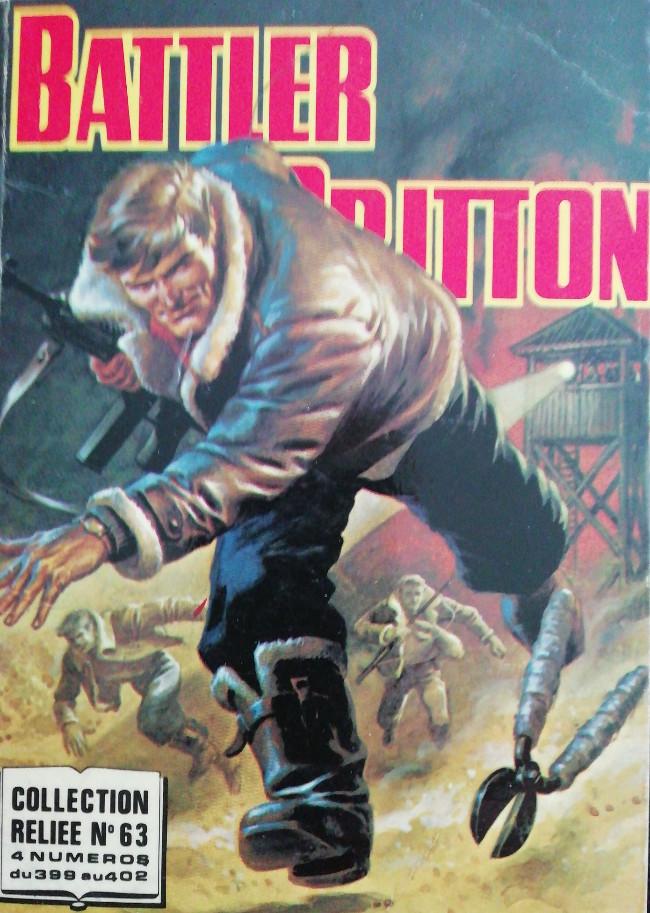 Couverture de Battler Britton -Rec63- Collection Reliée N°63 (du n°399 au n°402)