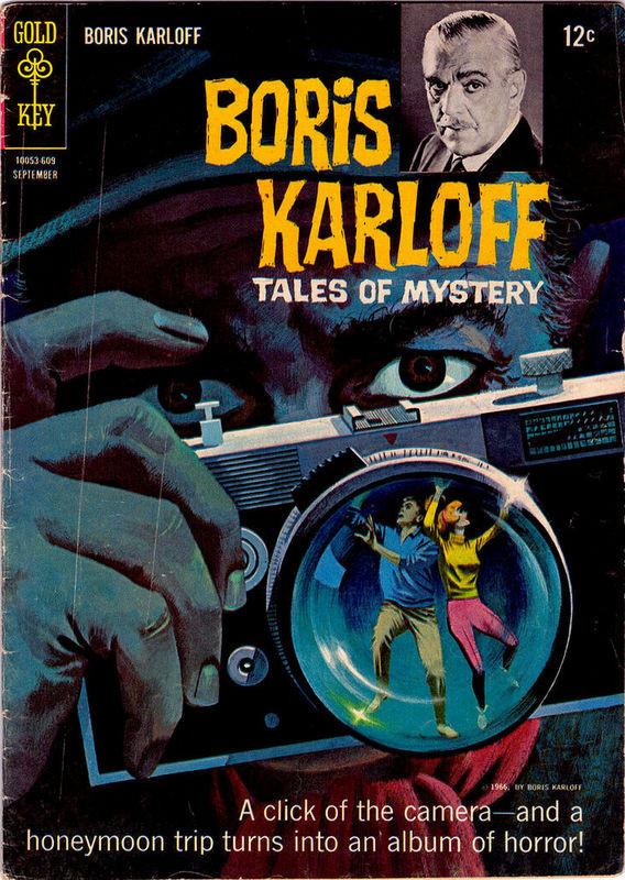 Couverture de Boris Karloff Tales of Mystery (1963) -15- (sans titre)