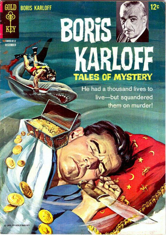 Couverture de Boris Karloff Tales of Mystery (1963) -16- (sans titre)