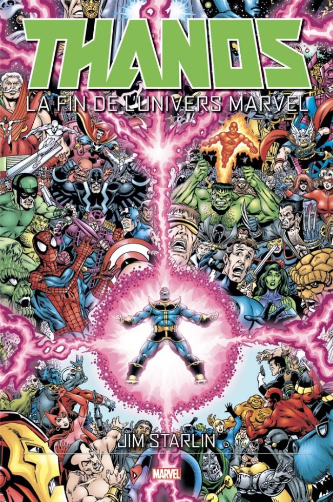 Couverture de Thanos (One shots) - Thanos : La fin de l'univers Marvel