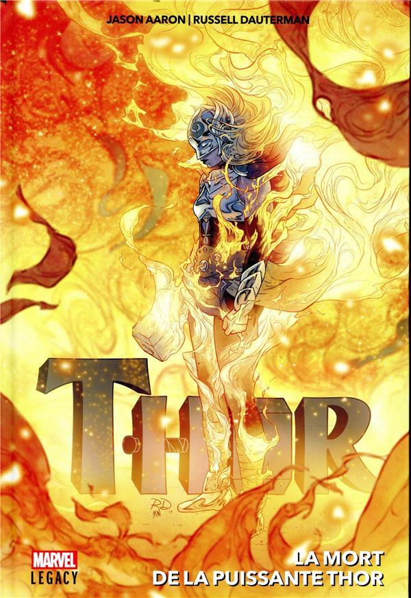 Couverture de Thor (Marvel Legacy) - La Mort de la puissante Thor