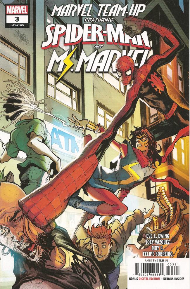 Couverture de Marvel Team-Up Vol.4 (Marvel comics - 2019) -3- Spider-Man and Ms. Marvel