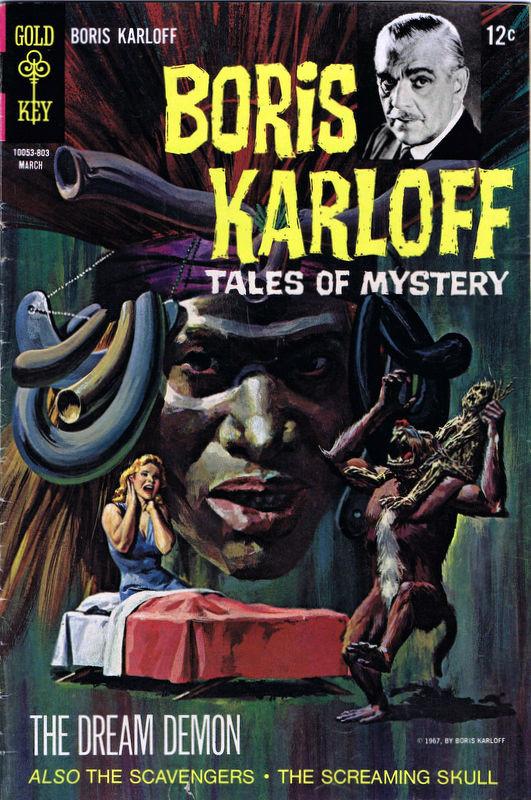 Couverture de Boris Karloff Tales of Mystery (1963) -21- The Dream Demon