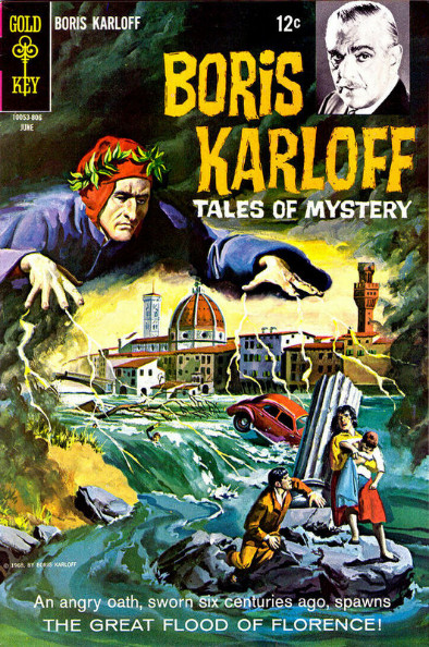 Couverture de Boris Karloff Tales of Mystery (1963) -22- The Great Flood of Florence!