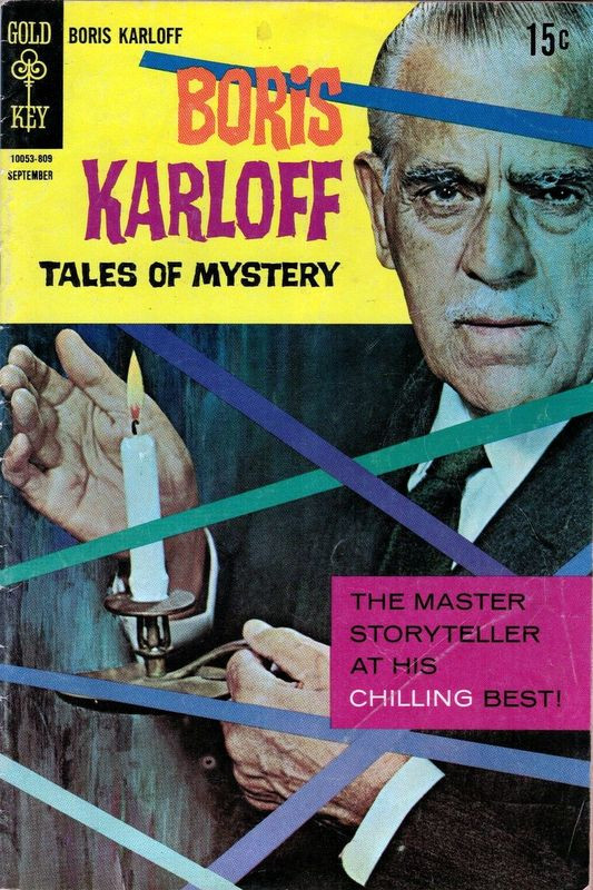 Couverture de Boris Karloff Tales of Mystery (1963) -23- The Master Storyteller at His Chilling Best!