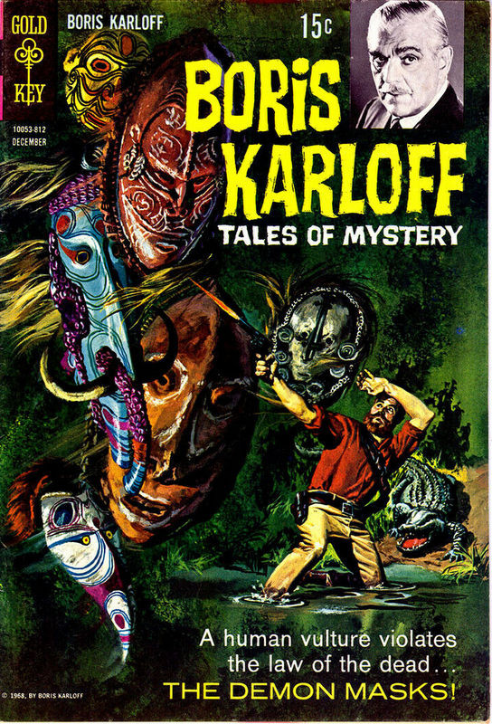 Couverture de Boris Karloff Tales of Mystery (1963) -24- The Demon Masks!