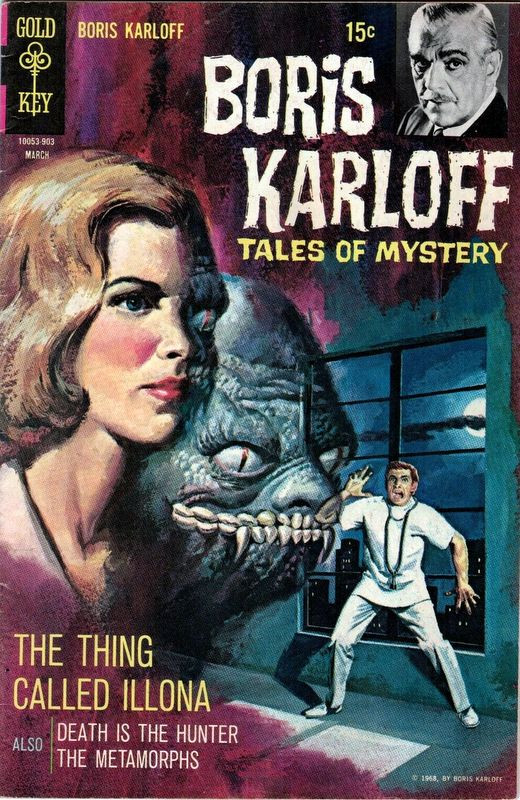 Couverture de Boris Karloff Tales of Mystery (1963) -25- The Thing Called Illona