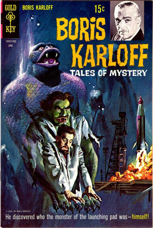 Couverture de Boris Karloff Tales of Mystery (1963) -26- (sans titre)