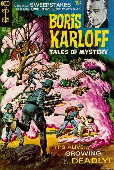 Couverture de Boris Karloff Tales of Mystery (1963) -28- It's Alive... Growing ...Deadly!