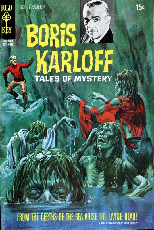 Couverture de Boris Karloff Tales of Mystery (1963) -32- From the Depths of the Sea Arise the Living Dead!