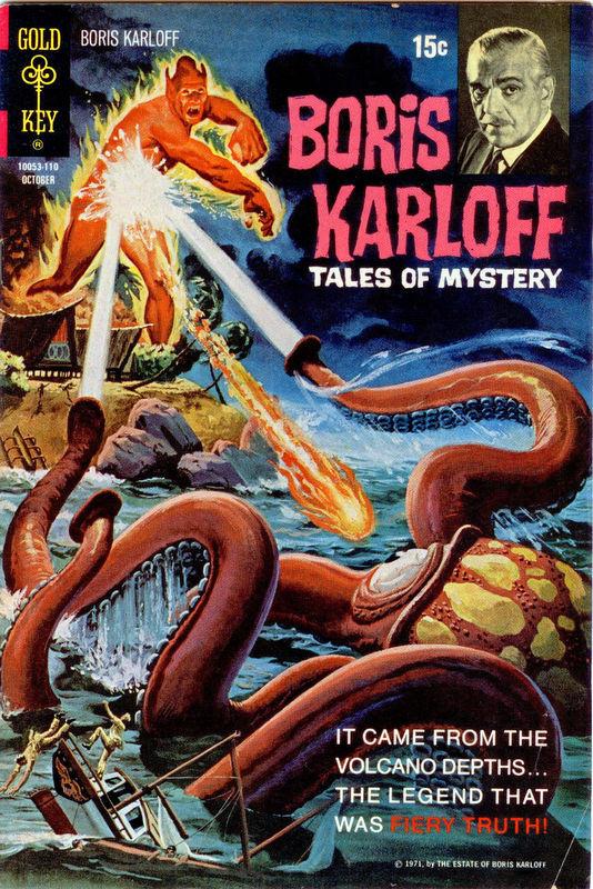 Couverture de Boris Karloff Tales of Mystery (1963) -37- Fiery Truth!