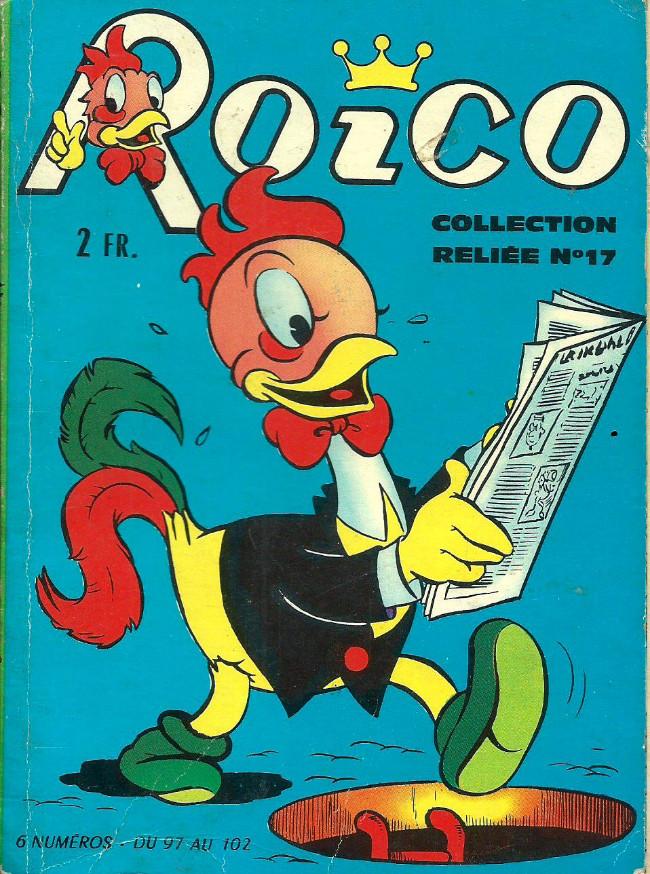 Couverture de Roico -Rec17- Collection reliée N°17 (du n°97 au n°102)