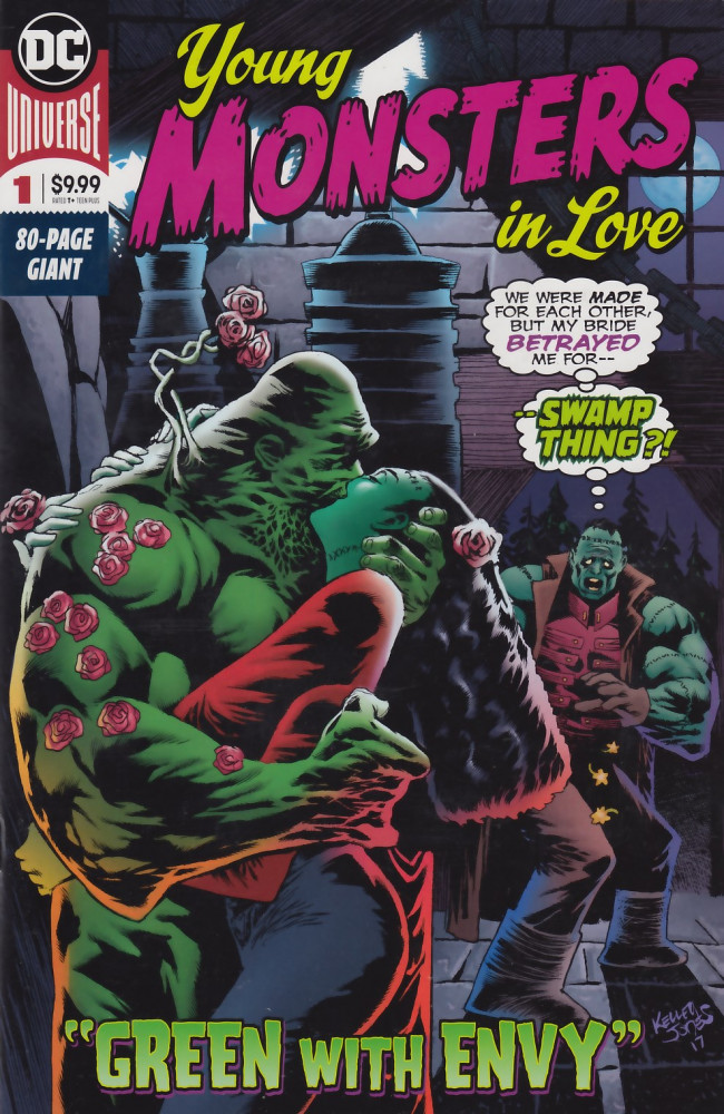 Couverture de Young Monsters in Love (2018) -1- Young Monsters in Love #1