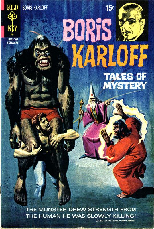Couverture de Boris Karloff Tales of Mystery (1963) -39- (sans titre)
