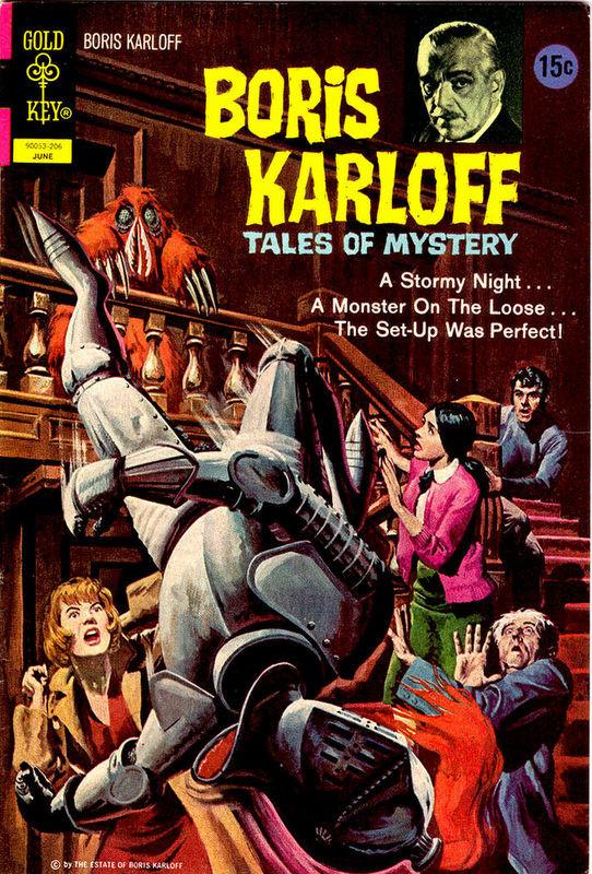 Couverture de Boris Karloff Tales of Mystery (1963) -41- (sans titre)
