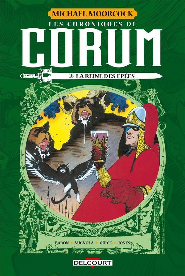 Couverture de Les chroniques de Corum -2- La reine des épées