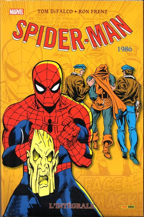 Couverture de Spider-Man (L'Intégrale) -24INT- Spider-man : l'intégrale 1986