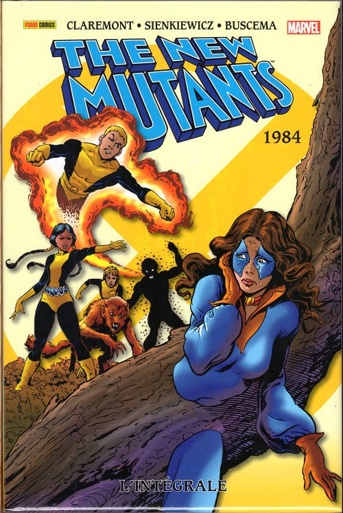 Couverture de New Mutants (The) (L'intégrale) -2- 1984
