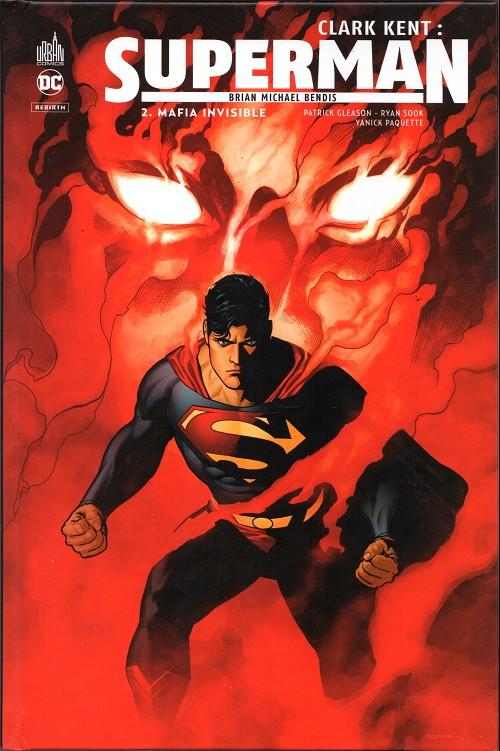 Couverture de Clark Kent : Superman -2- Mafia invisible